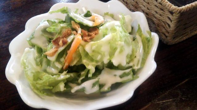 cafe 鈴木製作所のサラダ