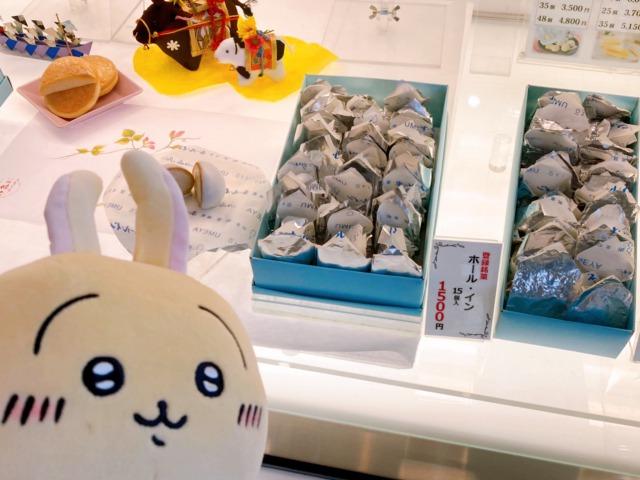 うさぎと伊豆銘菓ホール・イン