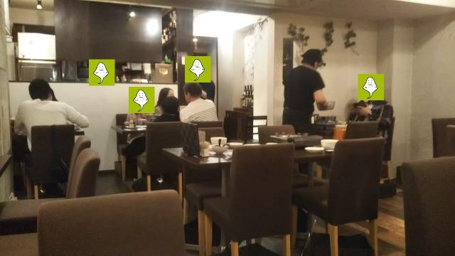 博多もつ鍋 和楽店内