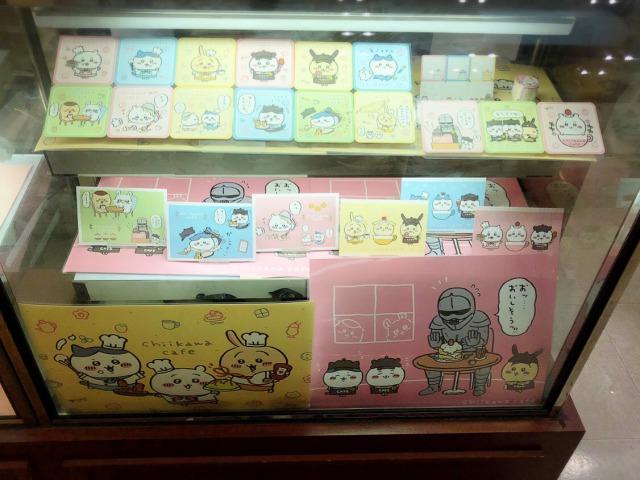 ちいかわカフェ@名古屋パルコのクッキー